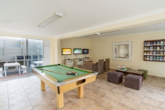 Kids will enjoy time at the games room